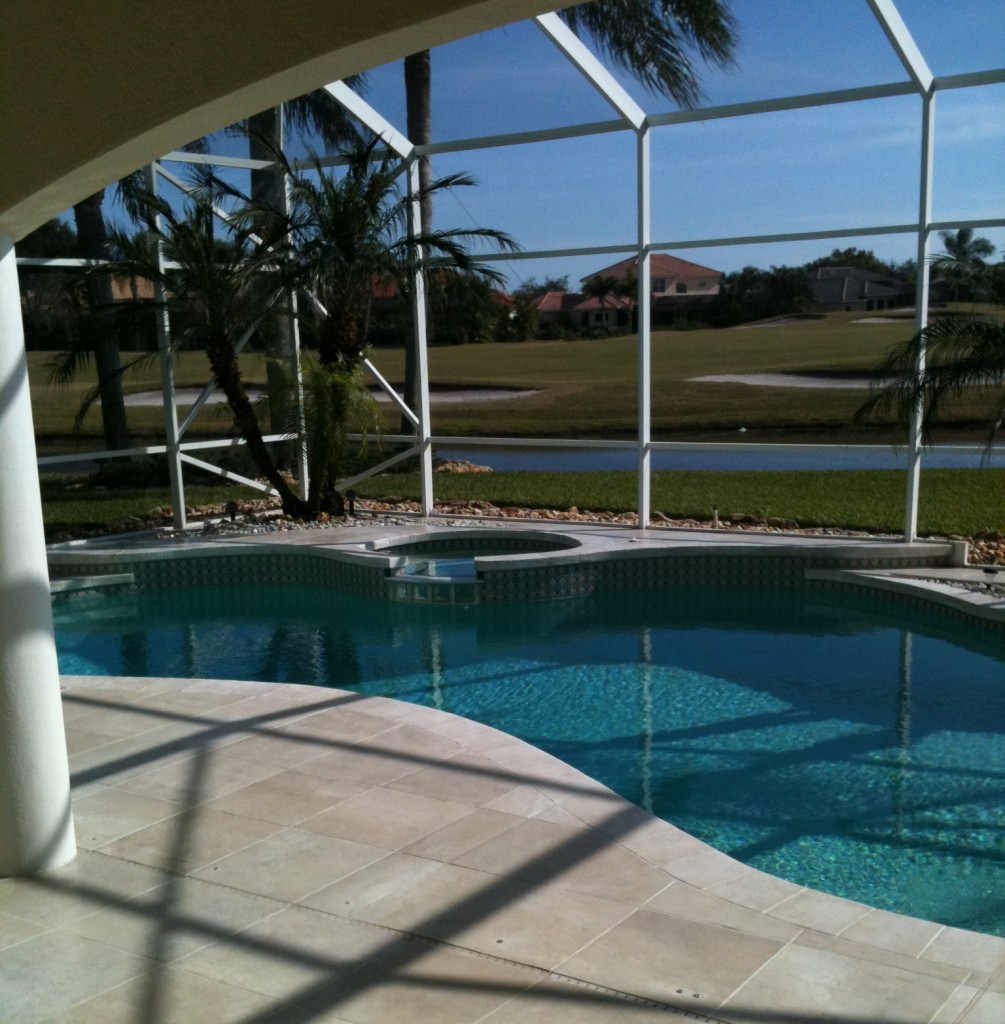 Concrete designs florida pool deck for Florida pool and deck
