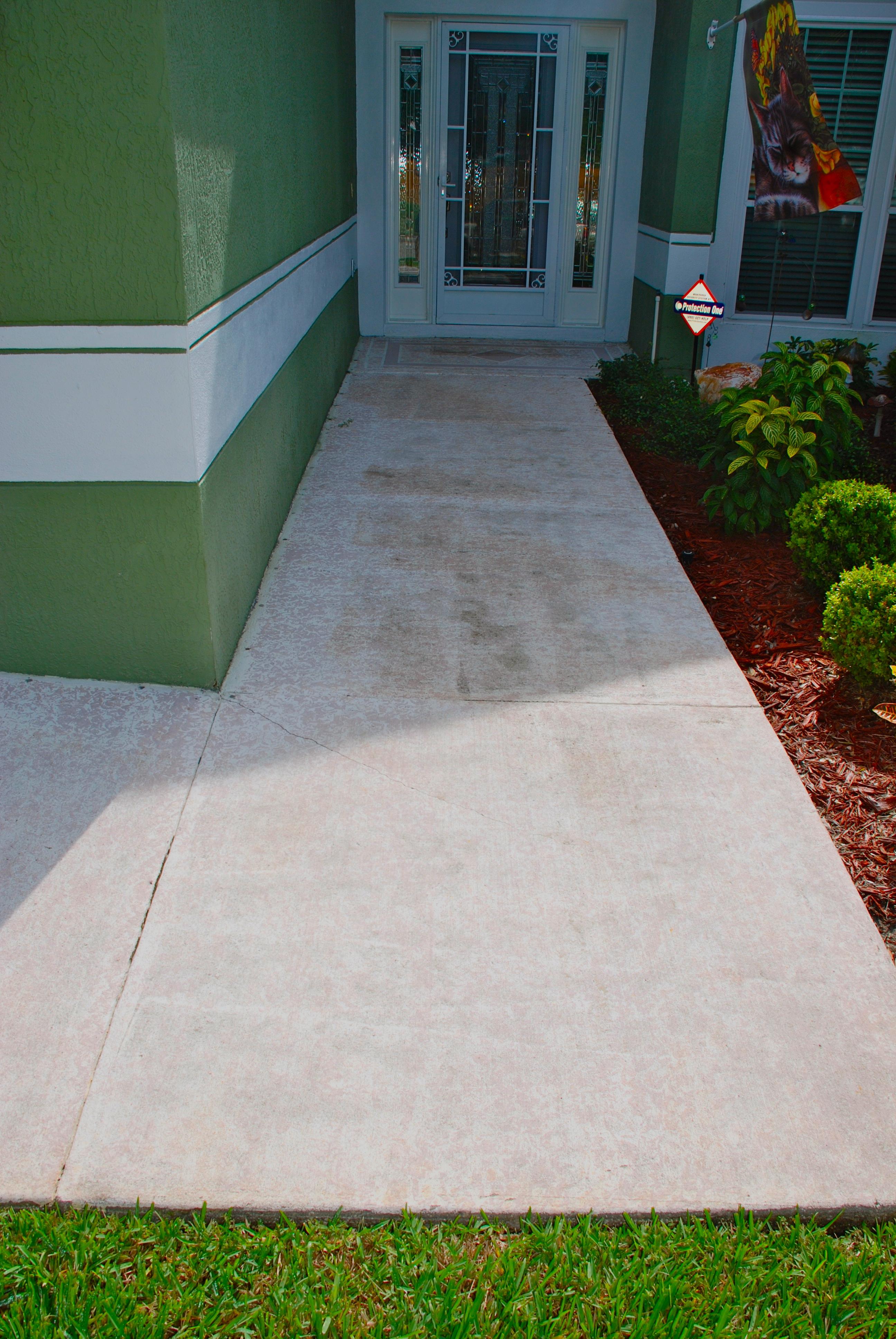Concrete Designs Florida Flagstone Entryway