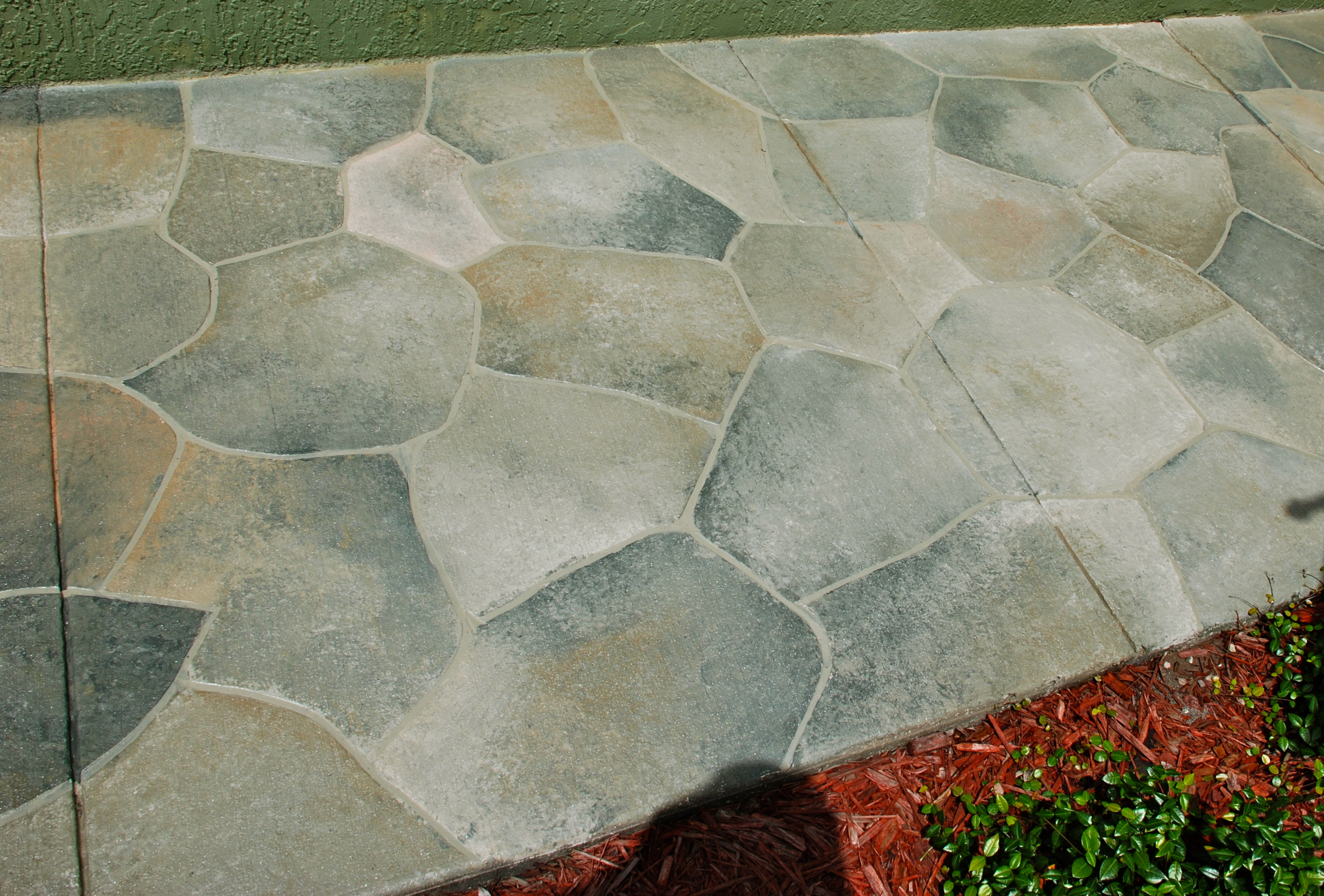 Concrete Refinished To Look Like