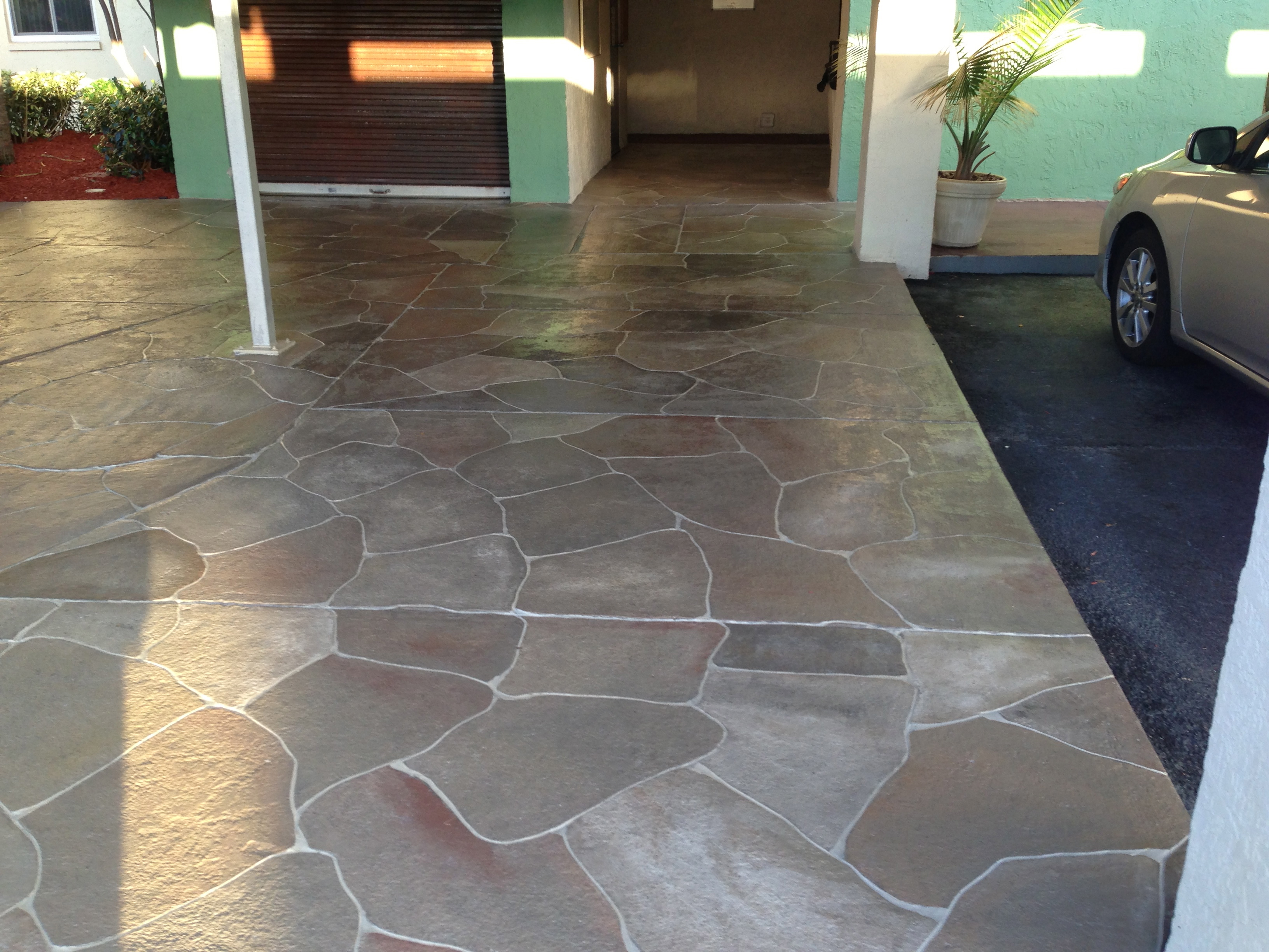 Concrete designs florida concrete painting for Best concrete floor paint