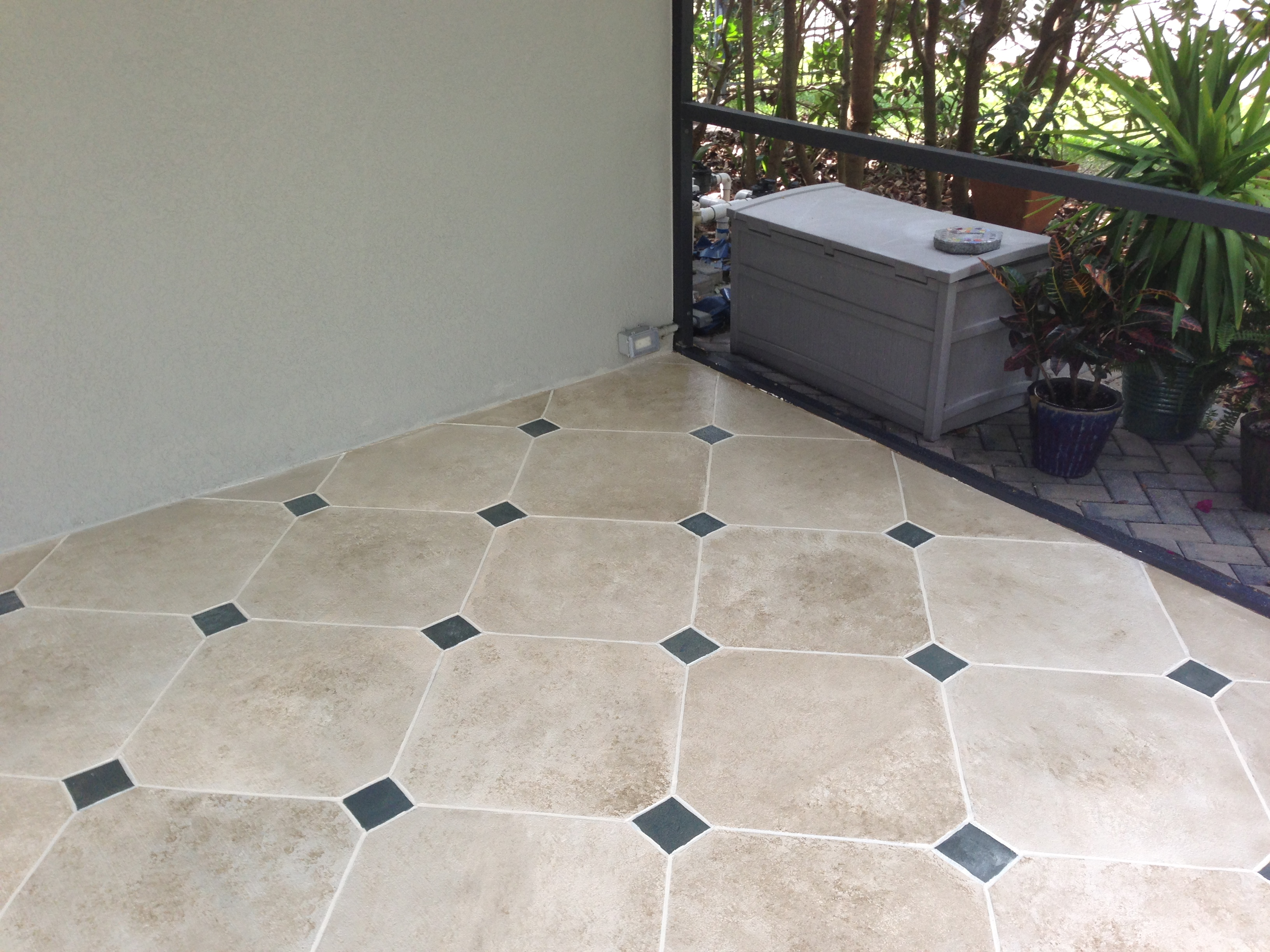 Exterior tile flooring comfortable home design for Terrace tiles