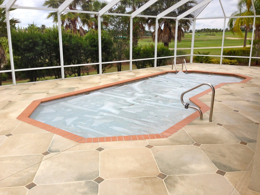 Concrete designs florida diagonal tile with inserts - Above ground swimming pools orlando florida ...