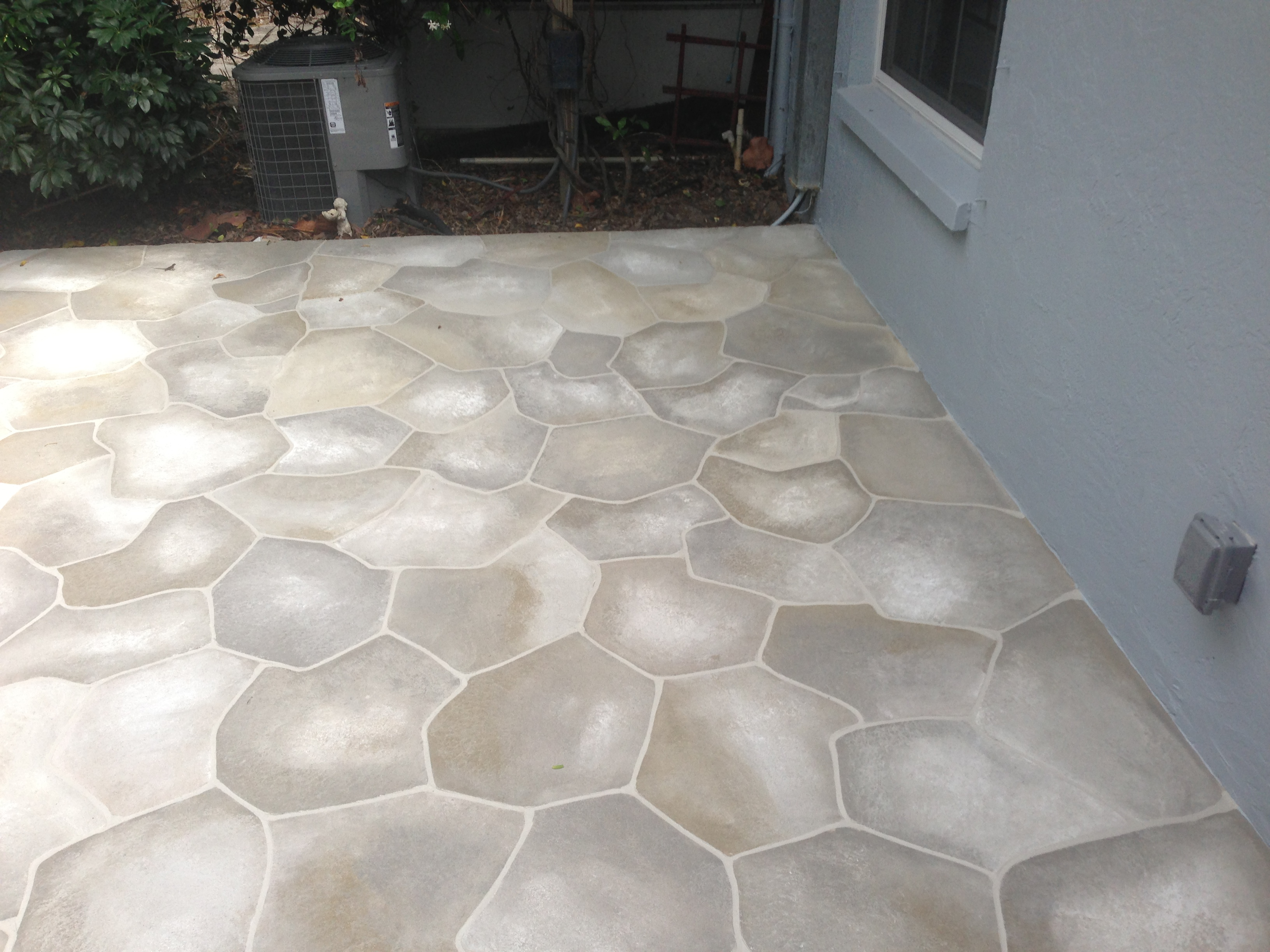 Concrete Designs Florida | flagstone patio