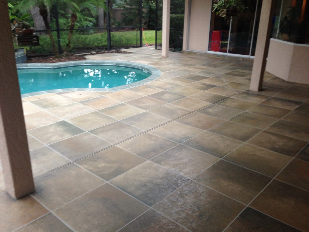Concrete designs florida robert anne for Florida pool and deck
