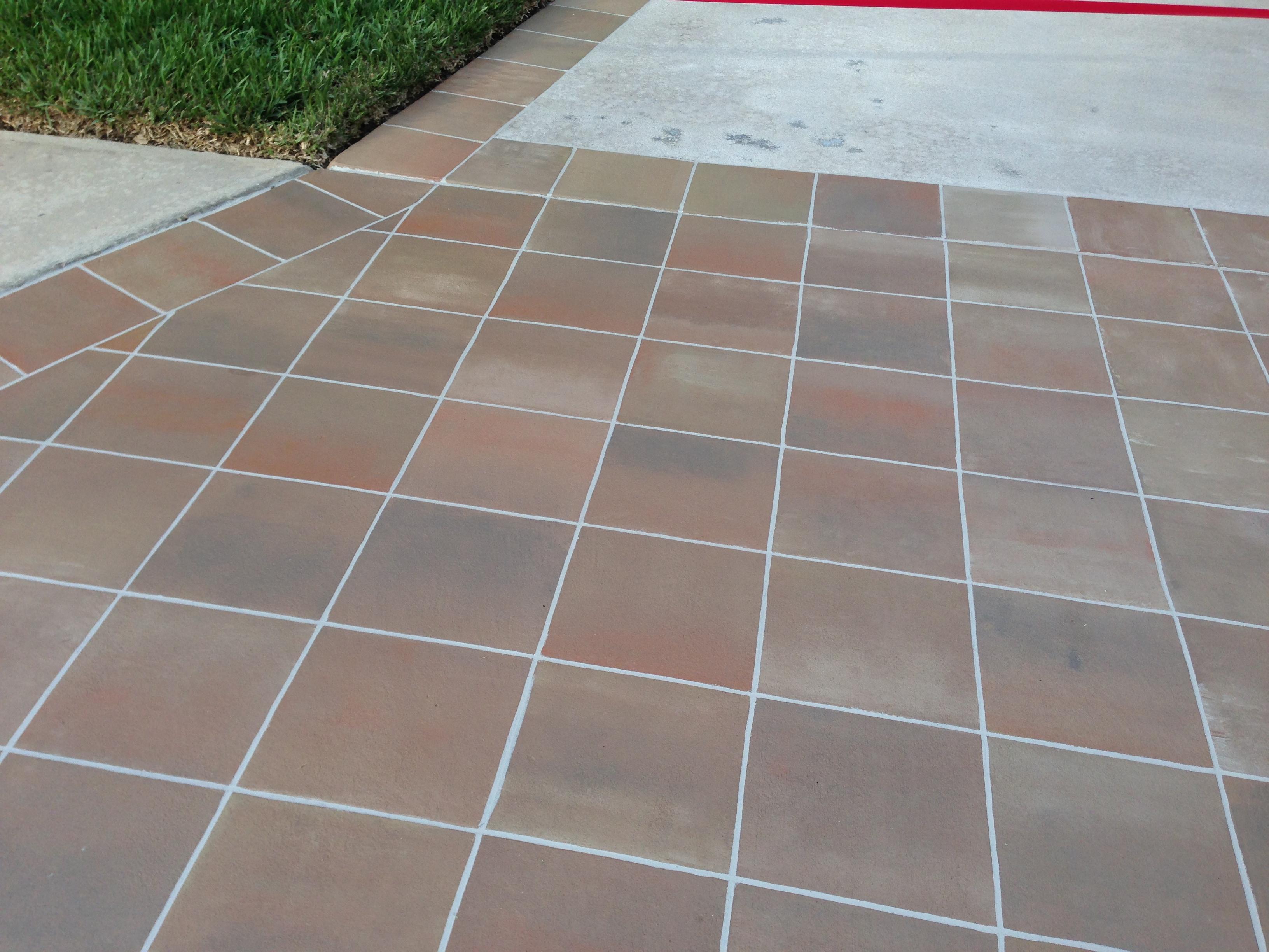 concrete designs florida tile driveway