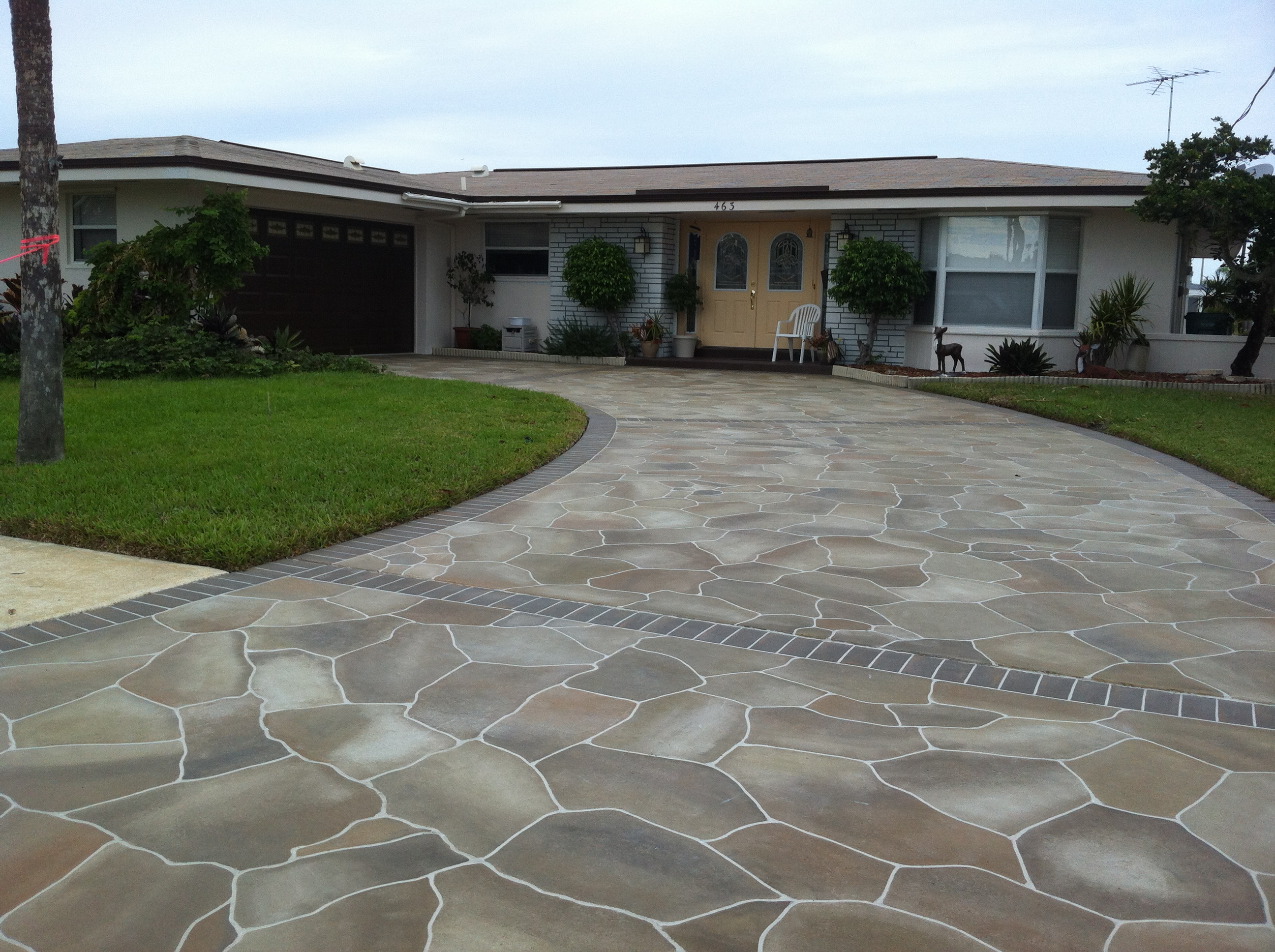Flagstone Driveway Design Pictures Joy Studio Design