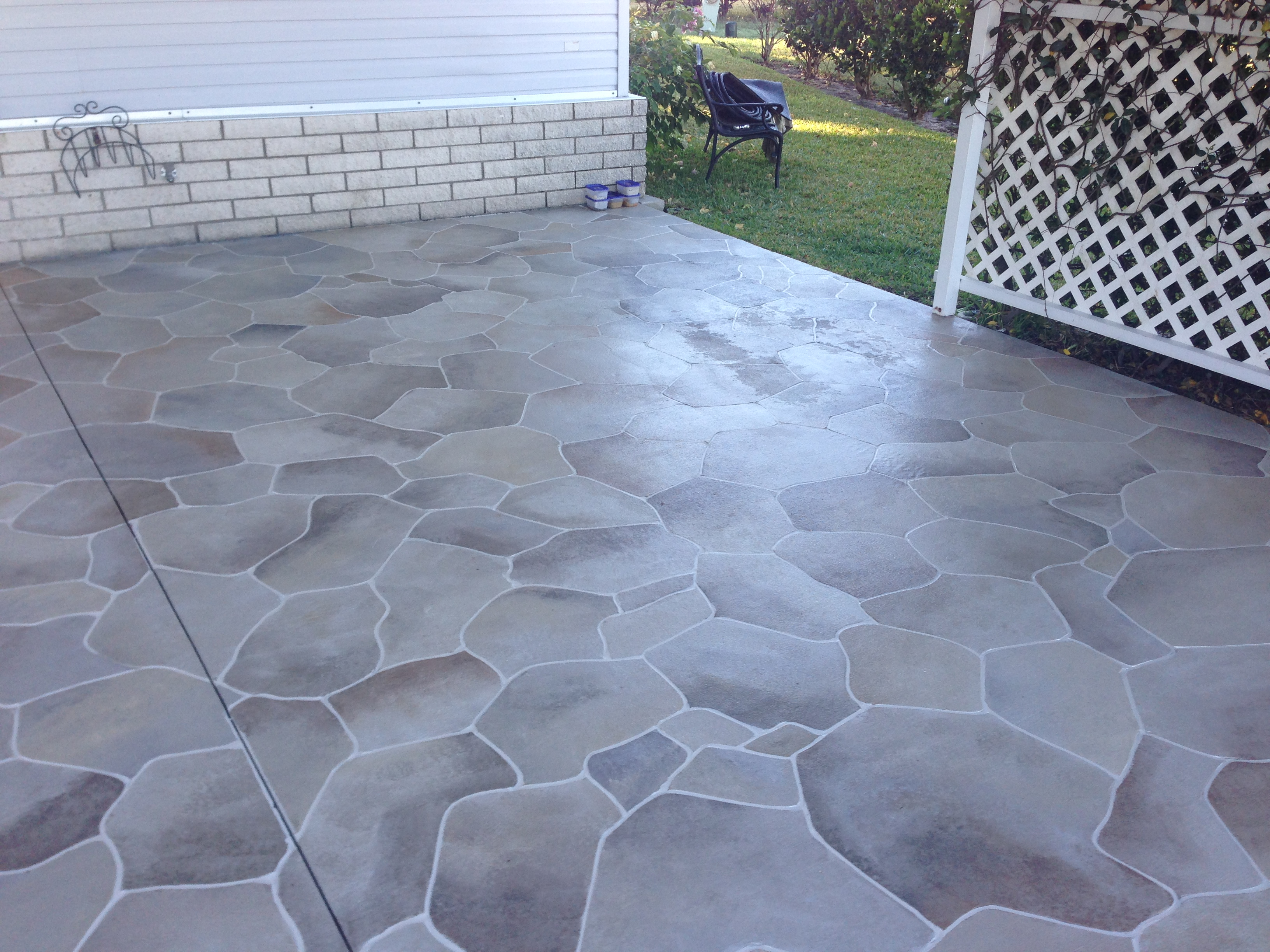 after - Concrete Driveway Design Ideas