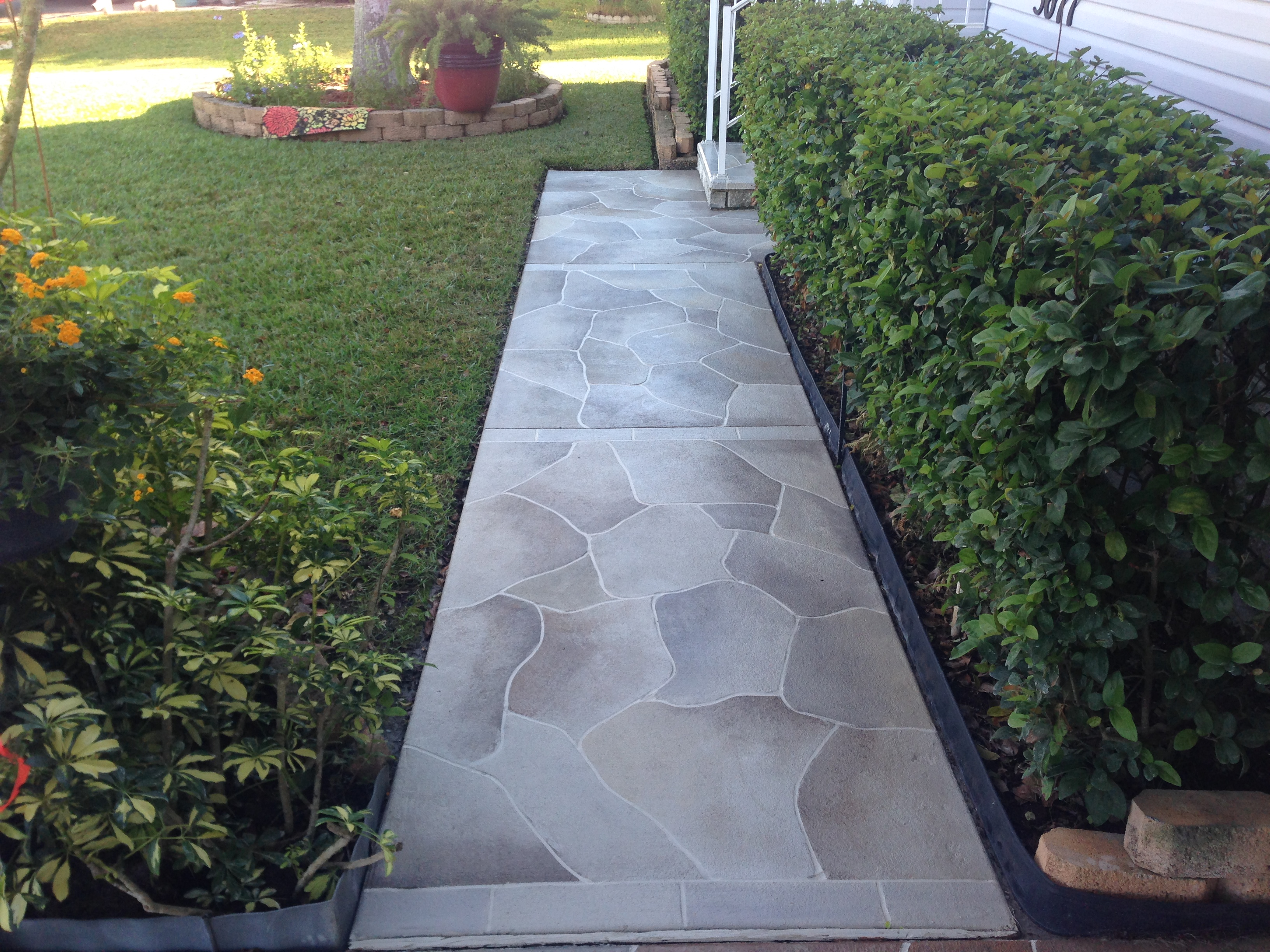 Concrete Designs Florida Driveway Staining